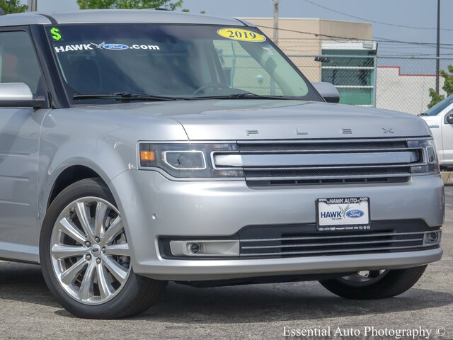 Pre-Owned 2019 Ford Flex Limited w/EcoBoost