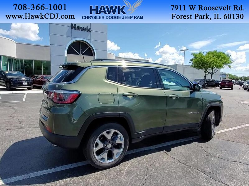 Pre-Owned 2020 Jeep Compass Limited